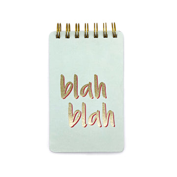 Wiro  Notepads (Blah Blah) - 7mm - Fine Paper Stationery