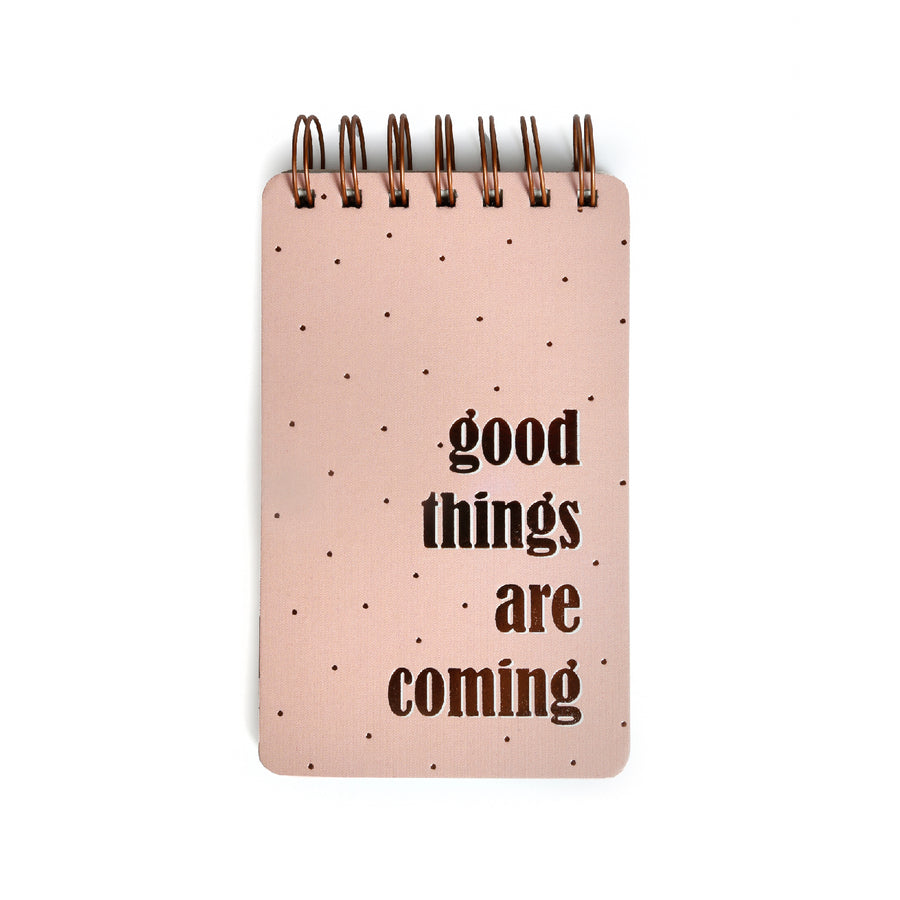 Wiro  Notepads (Good Things) - 7mm - Fine Paper Stationery