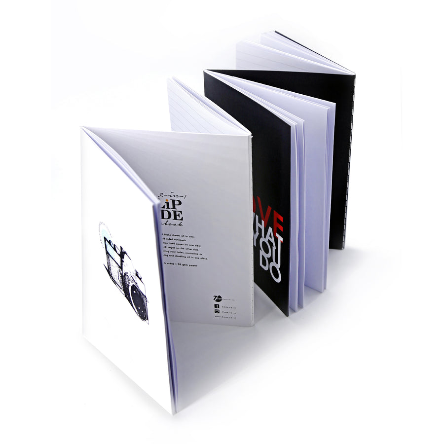 The Flip Notebook (Vintage) - 7mm - Fine Paper Stationery