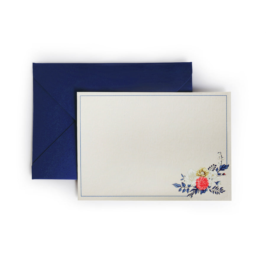 Notecards & Envelopes (Vintage) - 7mm - Fine Paper Stationery