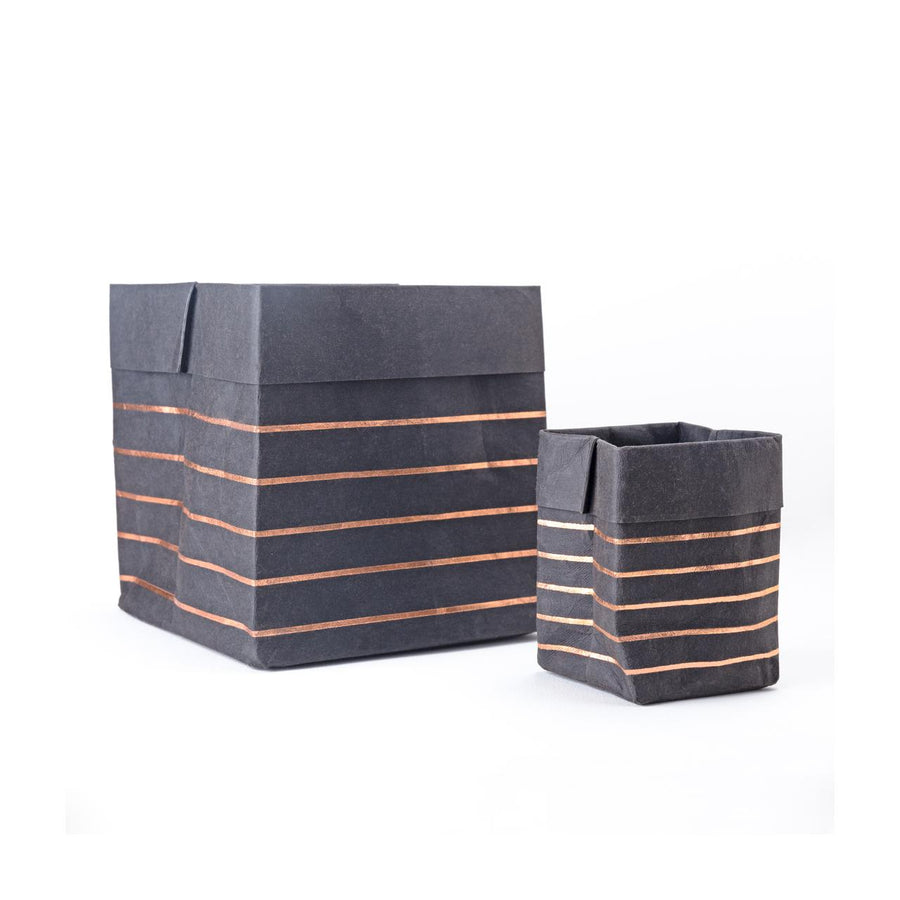 Paper Planter - Lines (Black) - 7mm - Fine Paper Stationery