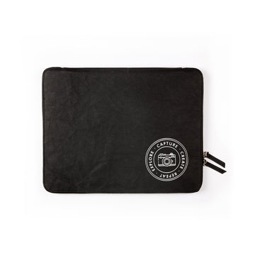 Laptop Sleeve: Capture (Black) - 7mm - Fine Paper Stationery