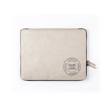 Laptop Sleeve: Capture (Grey) - 7mm - Fine Paper Stationery
