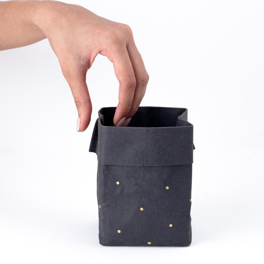 Paper Planter - Dots (Black) - 7mm - Fine Paper Stationery