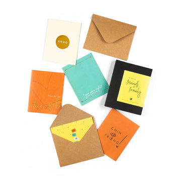 Gift Cards - Friends & Family - 7mm - Fine Paper Stationery