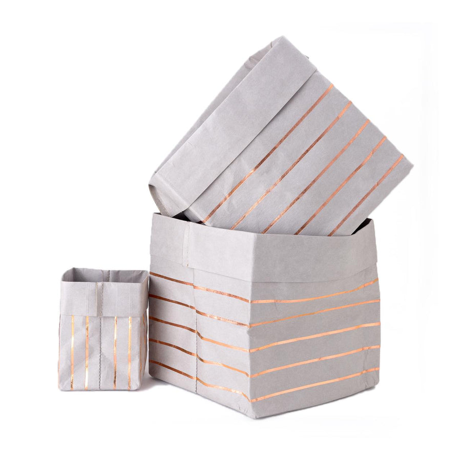 Paper Planter - Lines (Grey) - 7mm - Fine Paper Stationery