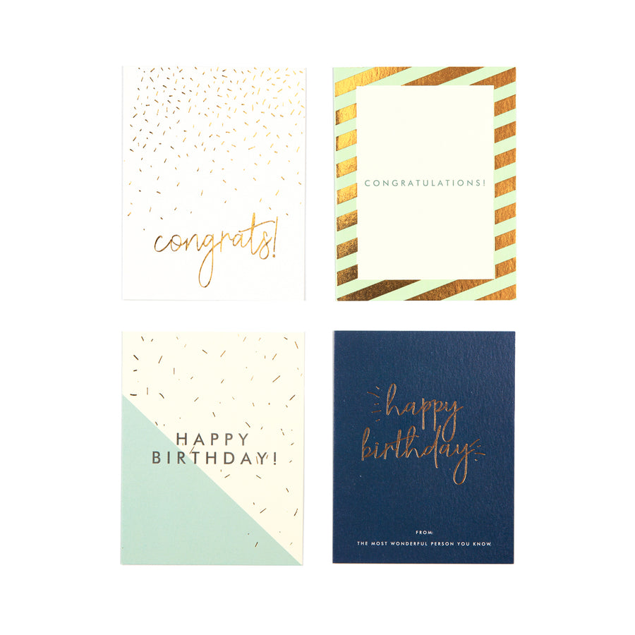 Gift Cards- All Occassions - 7mm - Fine Paper Stationery