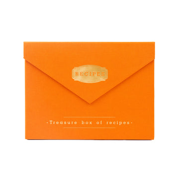Recipe Box (Orange)