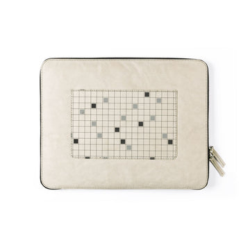 Laptop Sleeve: Pixels (Grey) - 7mm - Fine Paper Stationery