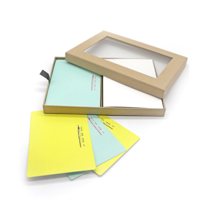 Notecards & Envelopes (From The Desk) - 7mm - Fine Paper Stationery