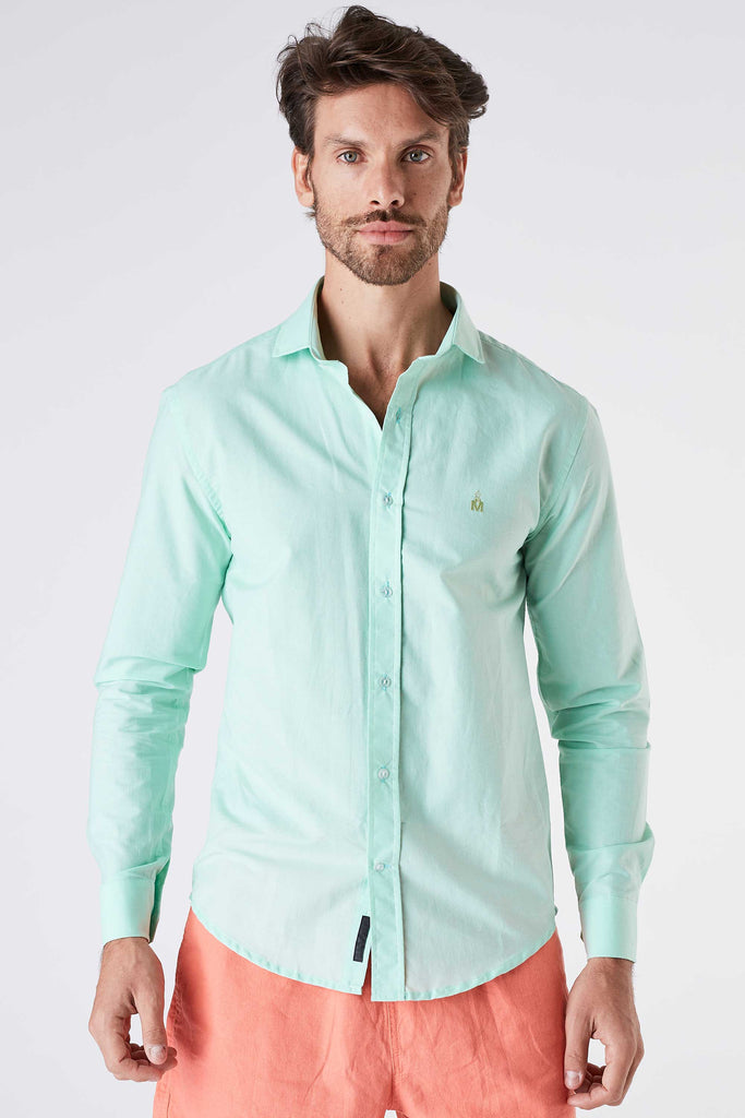 Camisa Masculina Water Verde