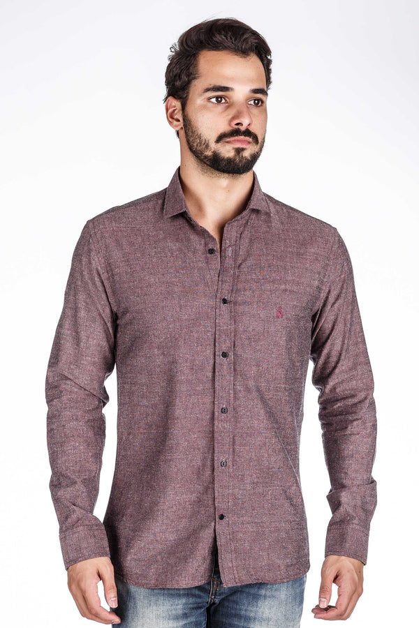 Camisa Masculina Tricoline On The Go Vrm