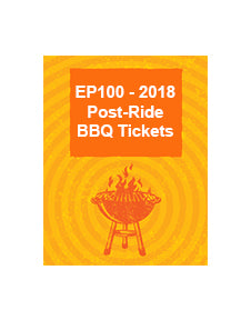 2018 Post Ride BBQ Ticket