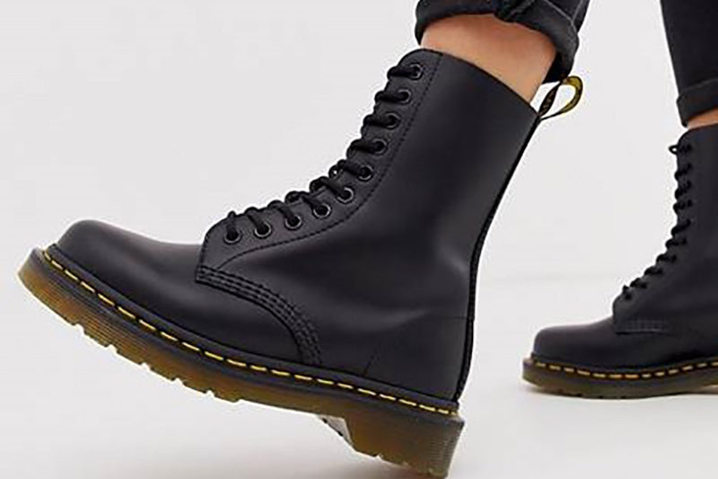 Dr. Martens Black Leather