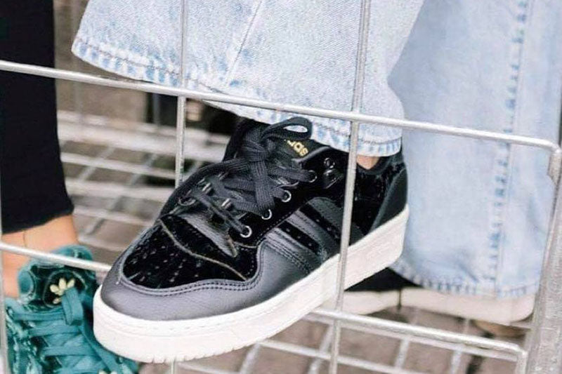 Adidas Rivalry Low Black Velvet