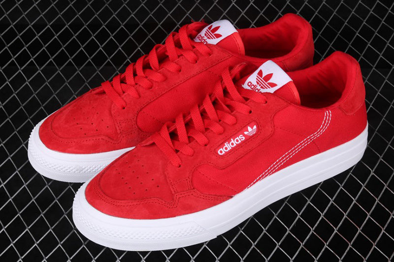 Adidas Continental Vulc Red
