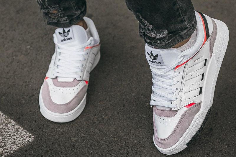 Adidas Drop Step Low White