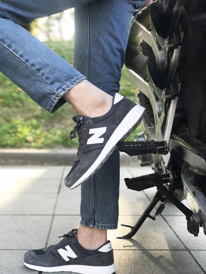 New Balance 420 Dark Grey