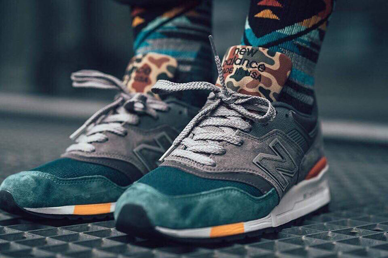 New Balance 997 Army Green