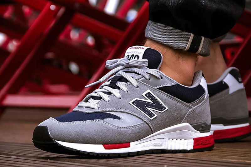 New Balance 840 Grey/Blue