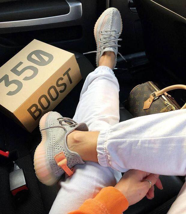 Adidas Yeezy 350 Grey Orange