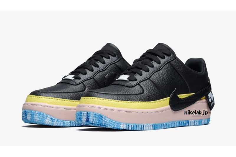 Nike Air Force 1 Jester Black/Sonic Yellow