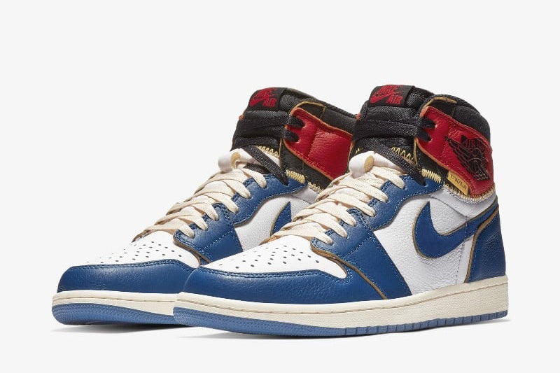 Jordan Retro 1 x Union LA High OG NRG - Storm Blue