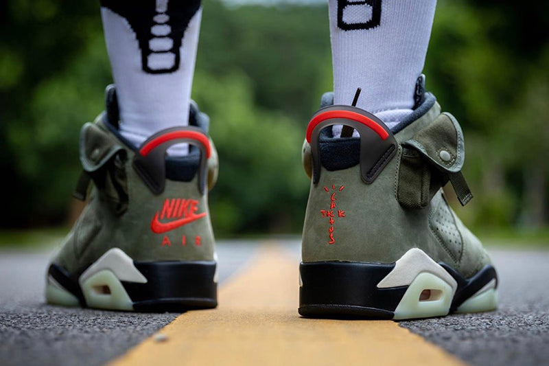 Travis Scott x Nike Air Jordan 6 Cactus Jack