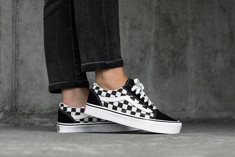 Vans Old Skool Lite Checkerboard.