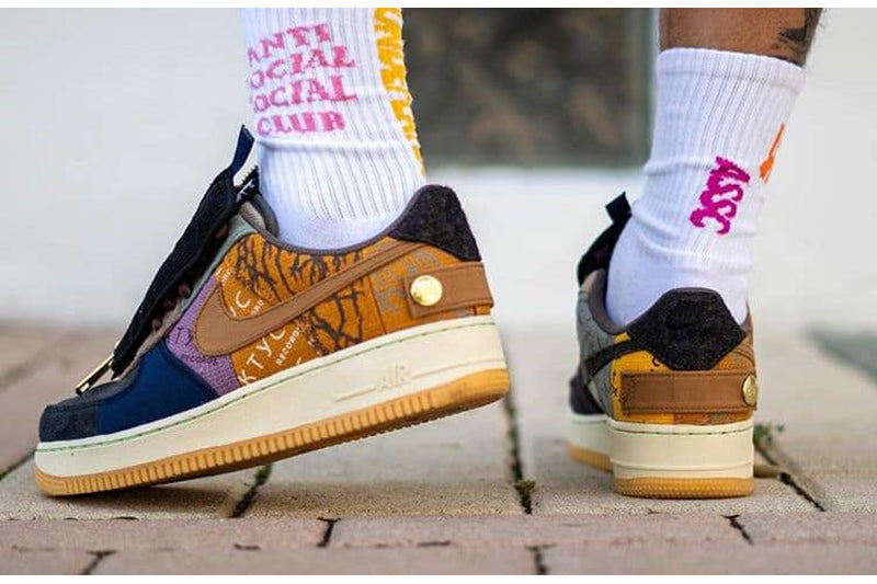 "Travis Scott x Nike Air Force 1 ""Cactus Jack"""