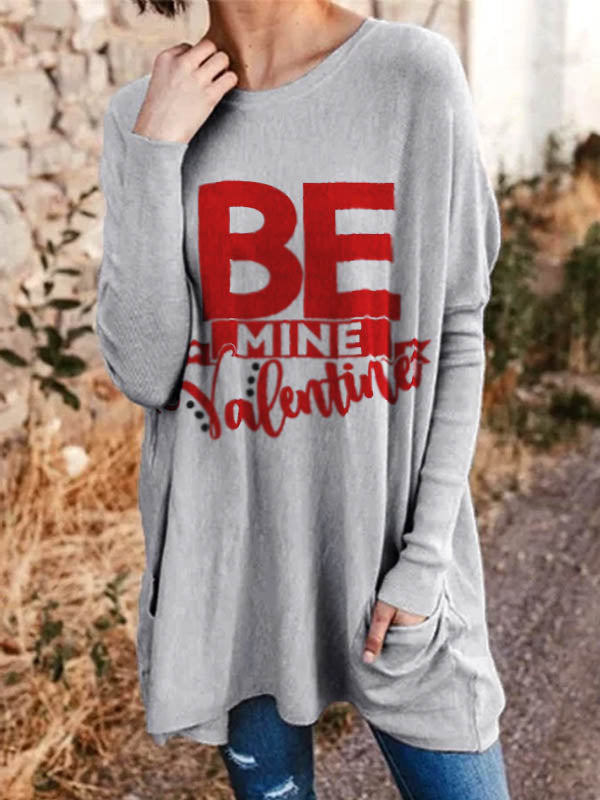 Women's Be Mine Valentine Casual Top