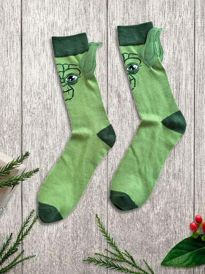Ladies Star Wars Yoda Fun Socks