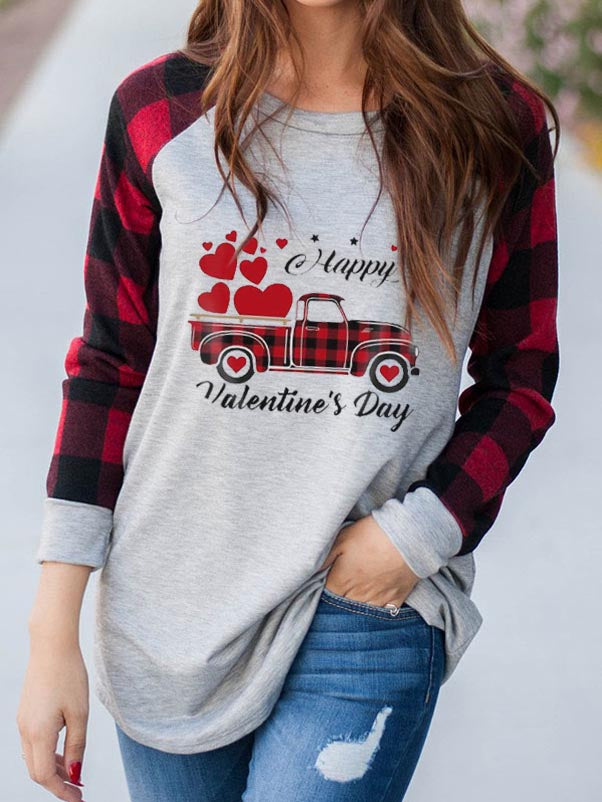 Women's HAPPY VALENTINE'S DAY T-shirt