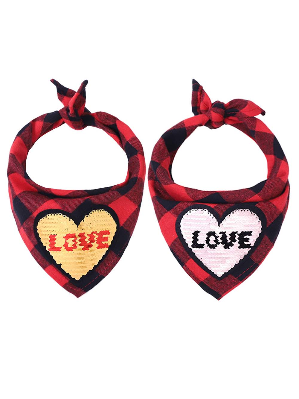 Cute Valentine's Day Pet Bib