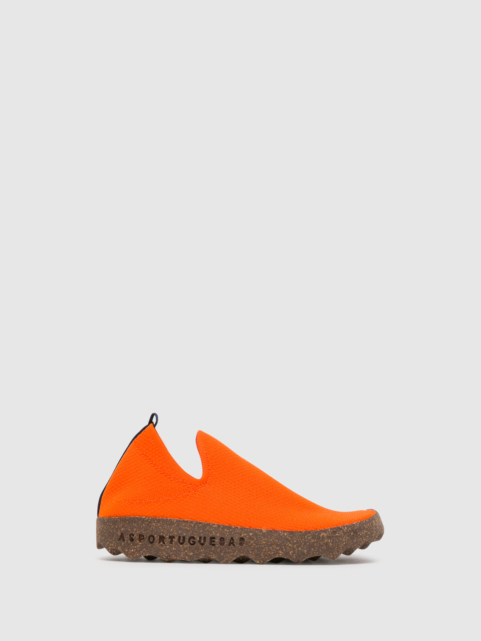 ASPORTUGUESAS Sneakers mit Elastikeinsätzen in Orange