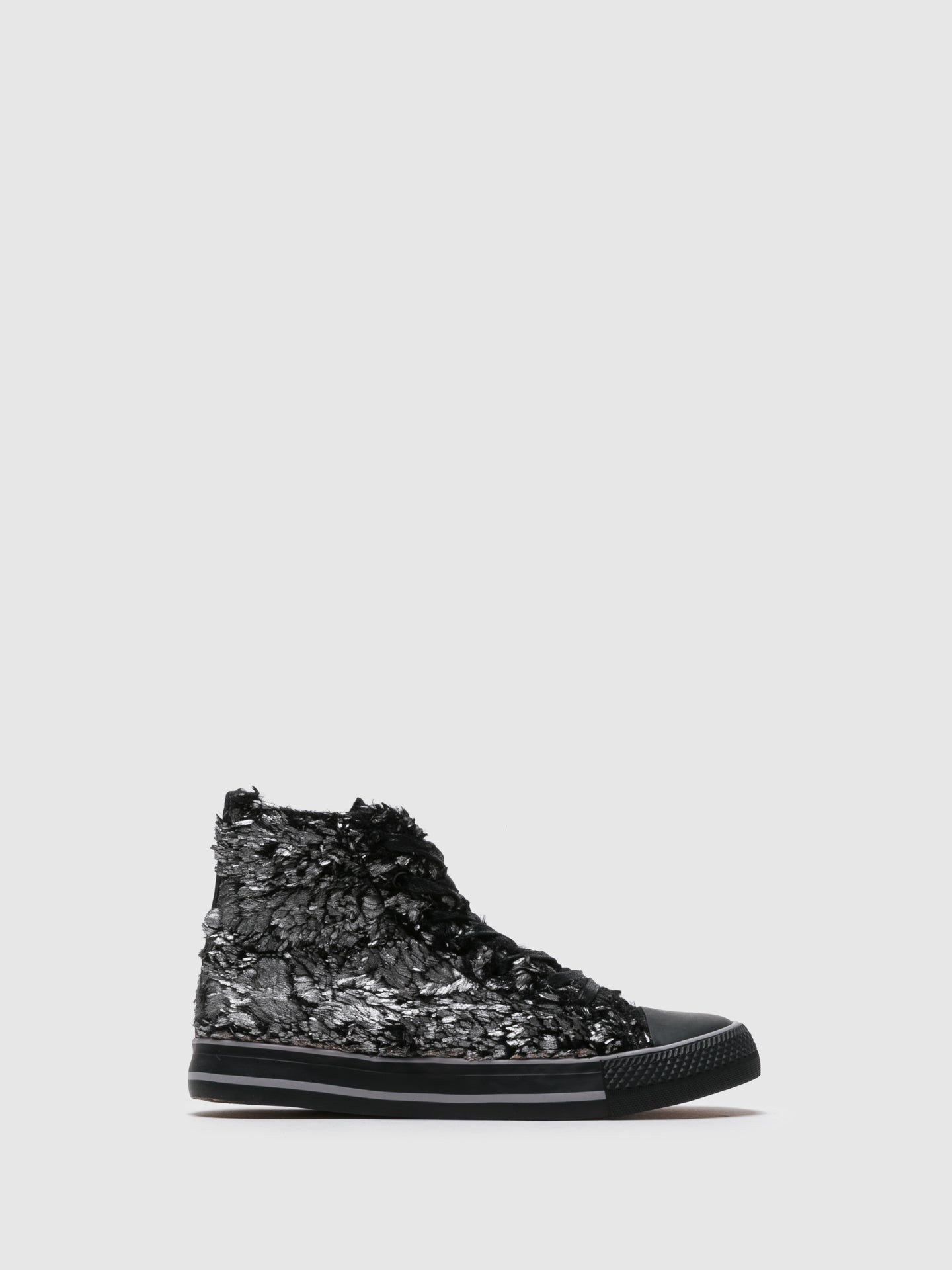 BEPPI High-Top-Sneakers in Argent