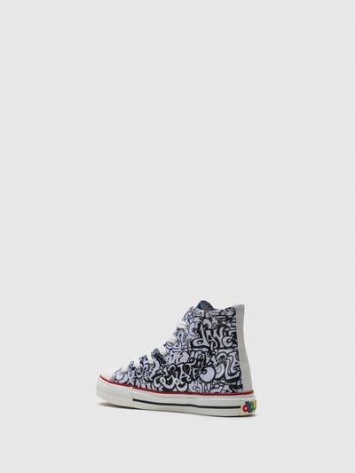 BEPPI High-Top-Sneakers in Multicolore