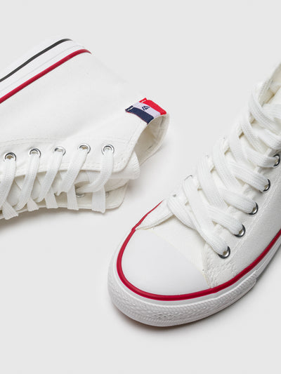 BEPPI High-Top-Sneakers in Blanc
