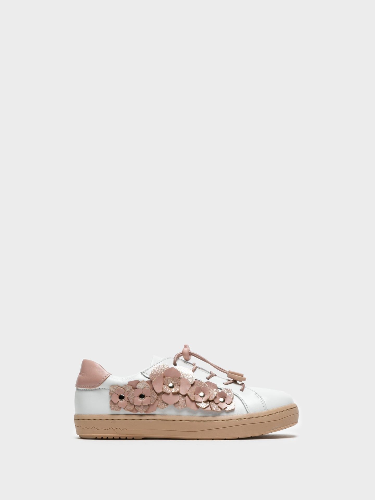 Camport Sneakers mit Applikationen in Camel Blanc