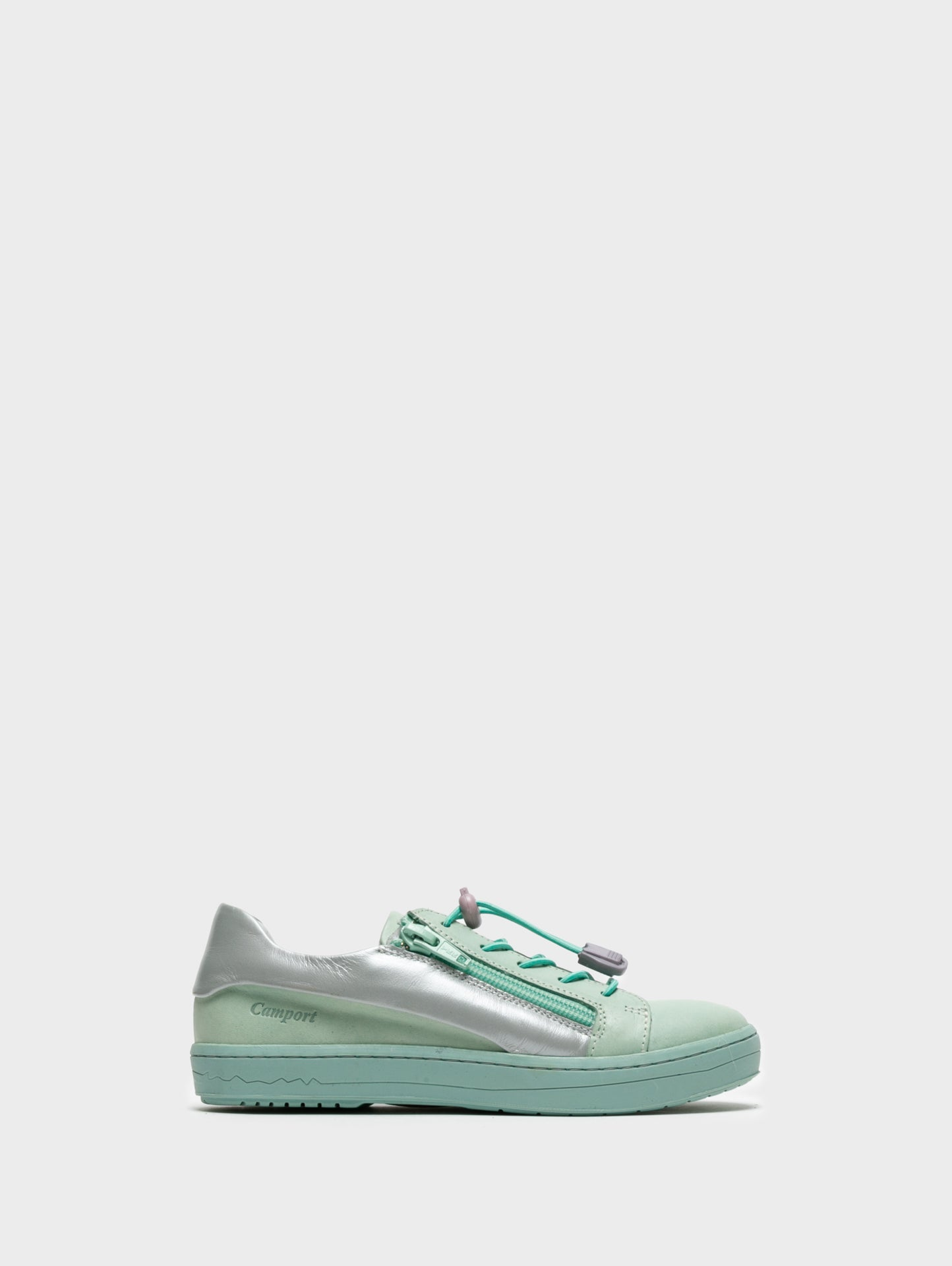 Camport Low-Top-Sneakers in Aquamarin Blau