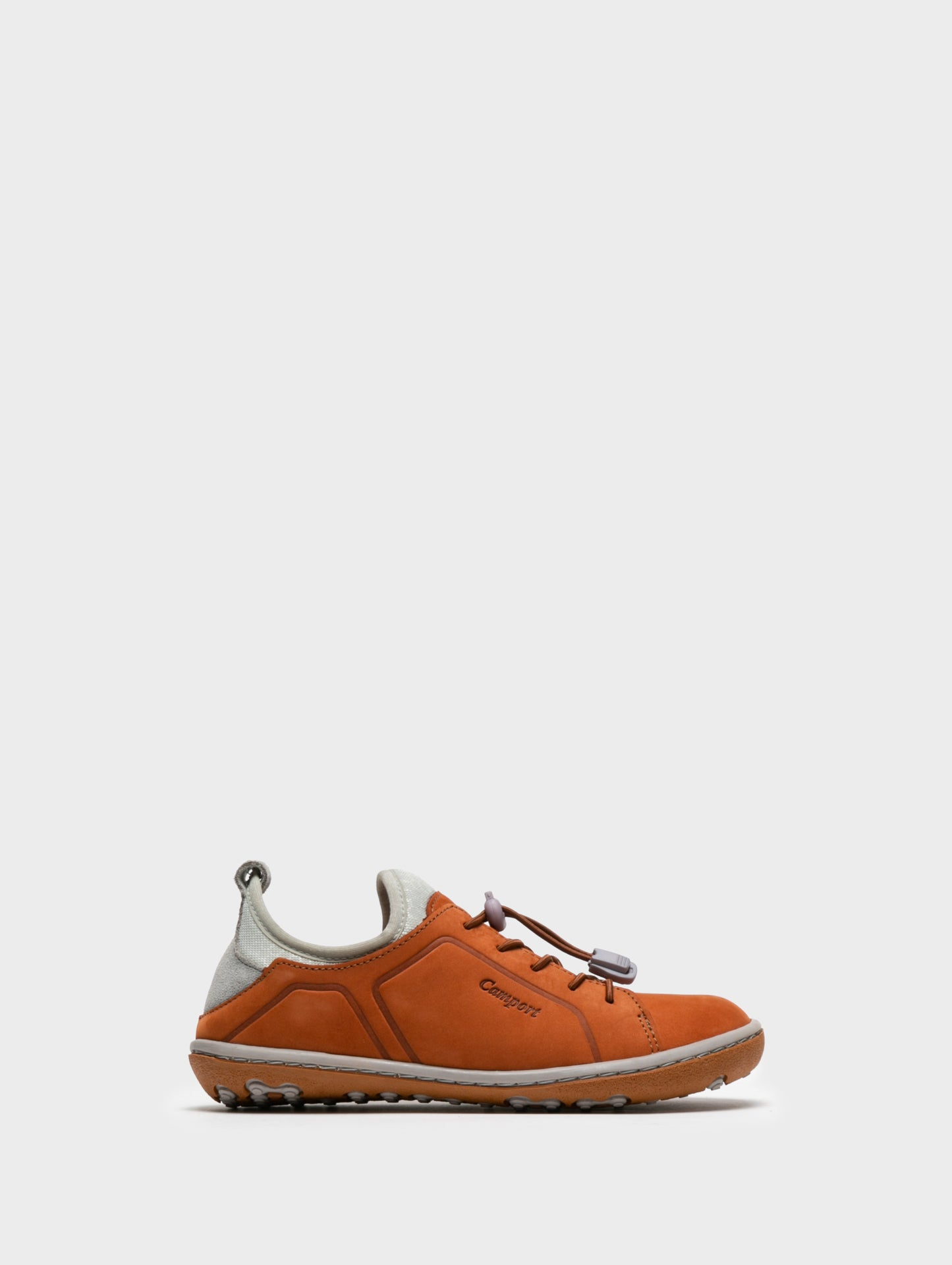 Camport Sneakers mit Schnürverschluss in Orange Foncé