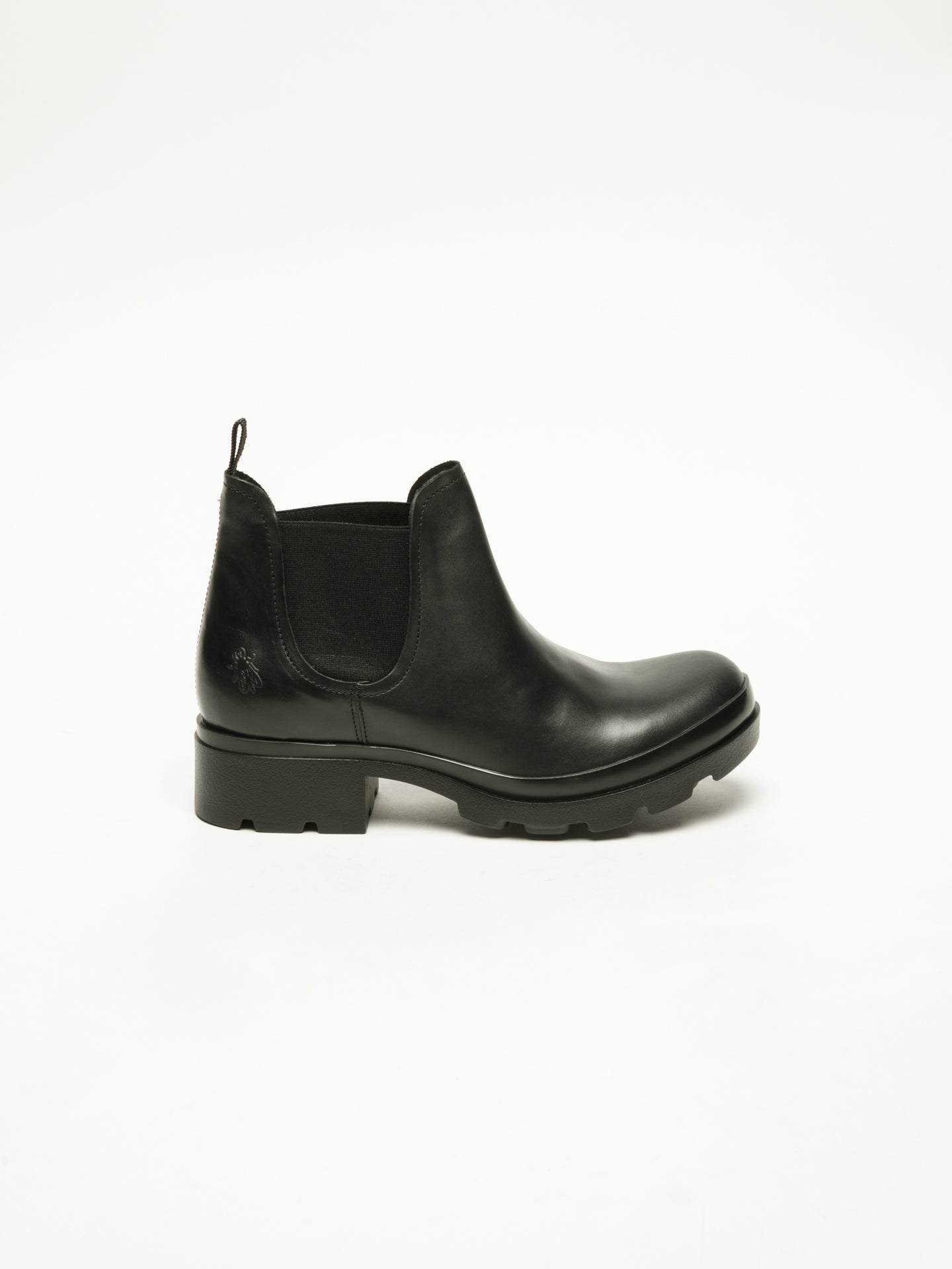 Fly London Stiefeletten im Chelsea-Stil in Schwarz