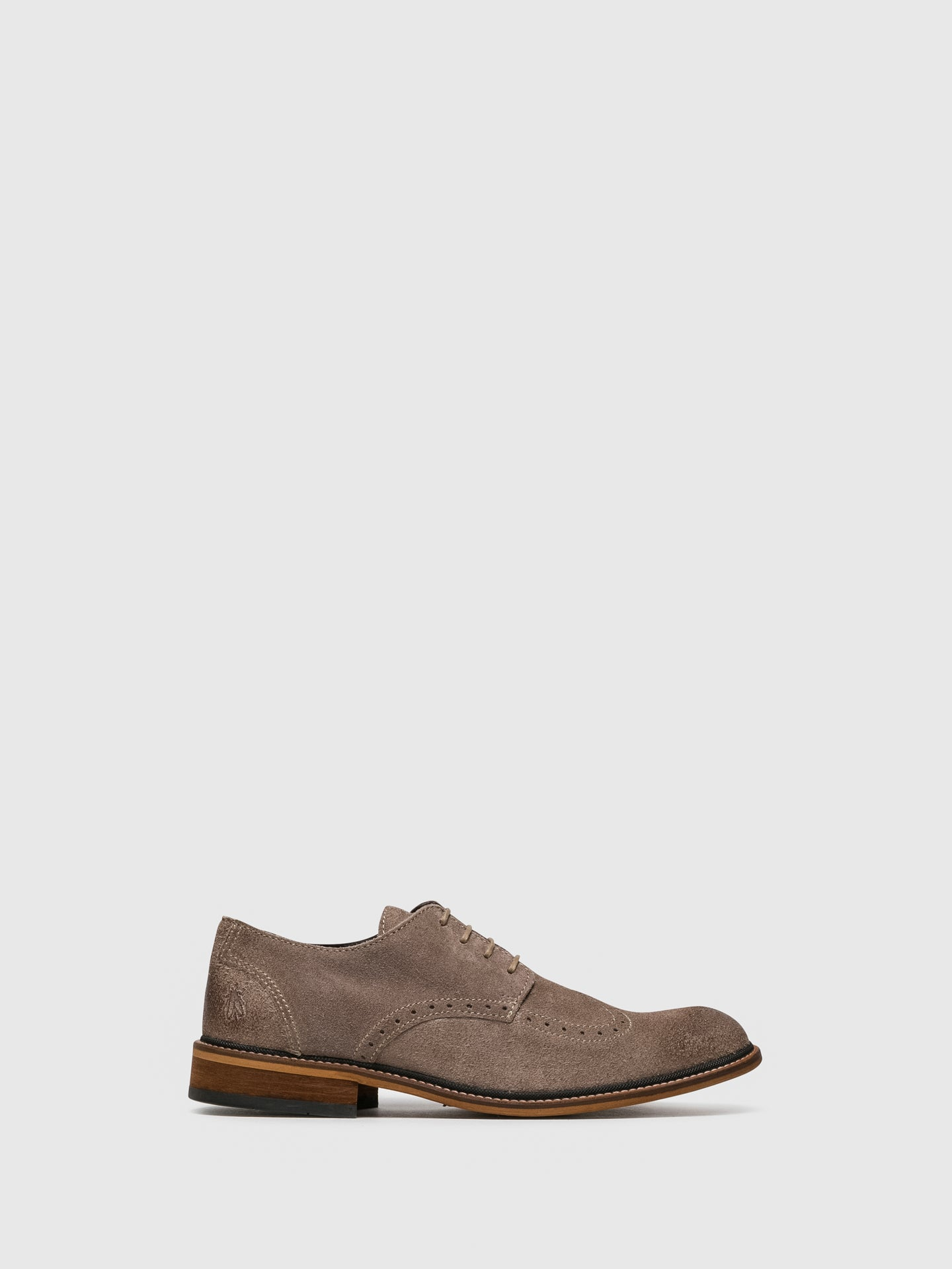 Fly London Schuhe im Derby-Stil in Taupe