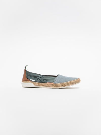 Fly London Espadrilles Klassische Ballerinas in Blau