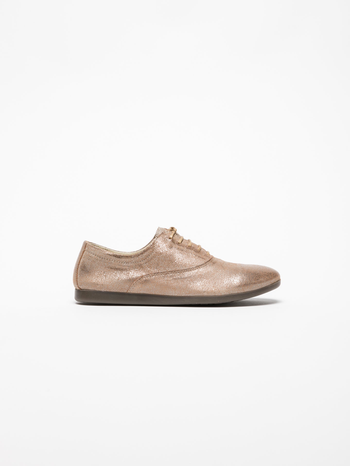Fly London Schuhe im Oxford-Stil in Camel