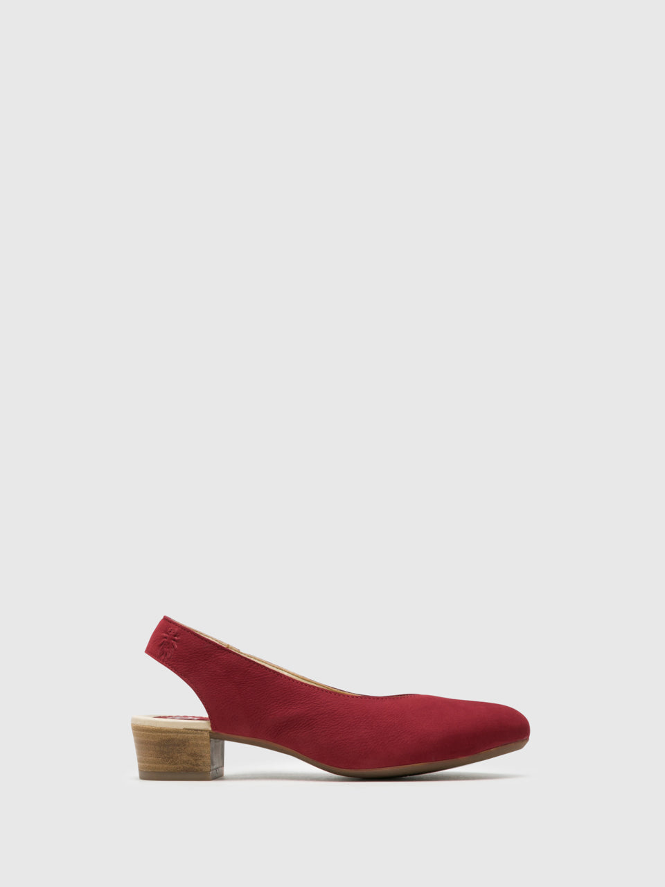Fly London Pumps mit Fersenriemen Schuhe in Rot