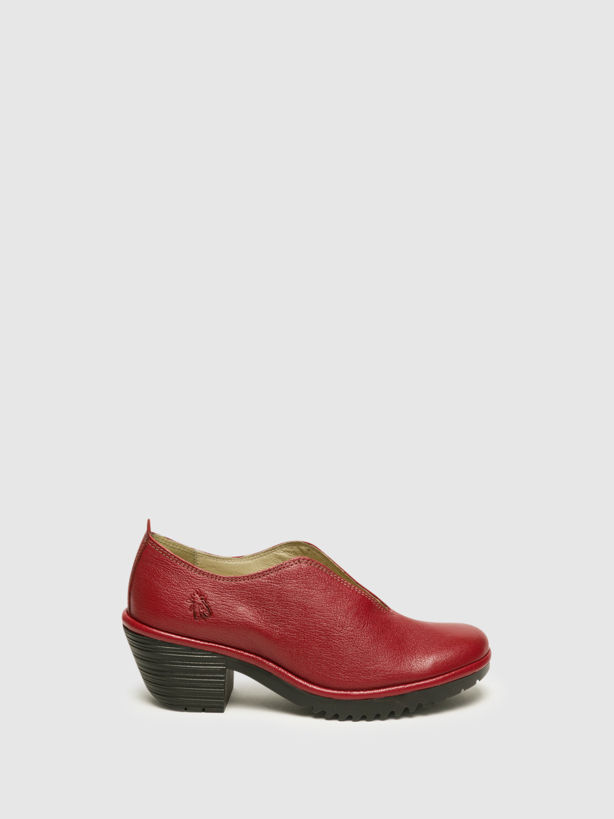 Fly London Schuhe mit runder Kappe in Rot