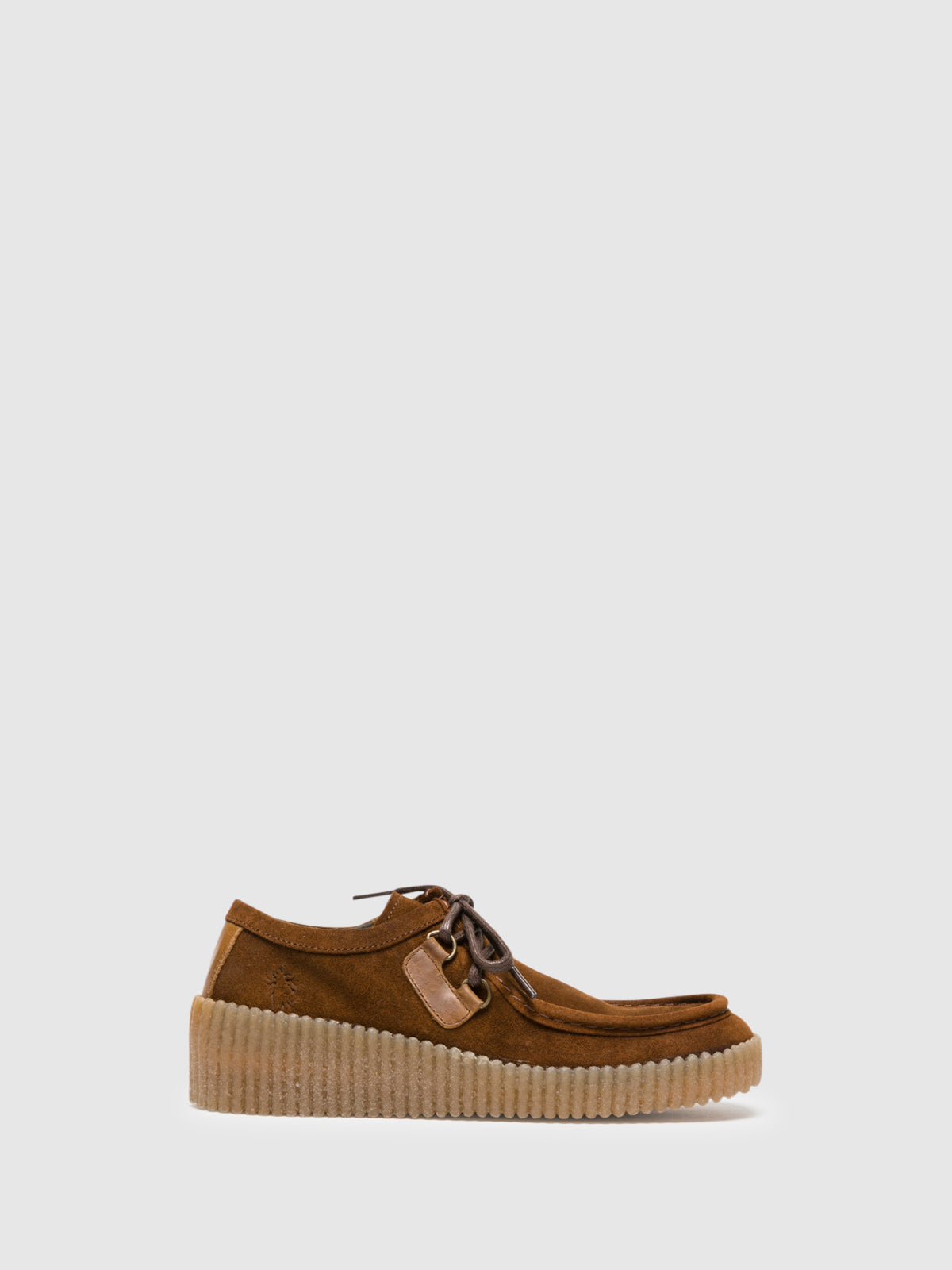 Fly London Schuhe mit Plateauabsatz in Camel