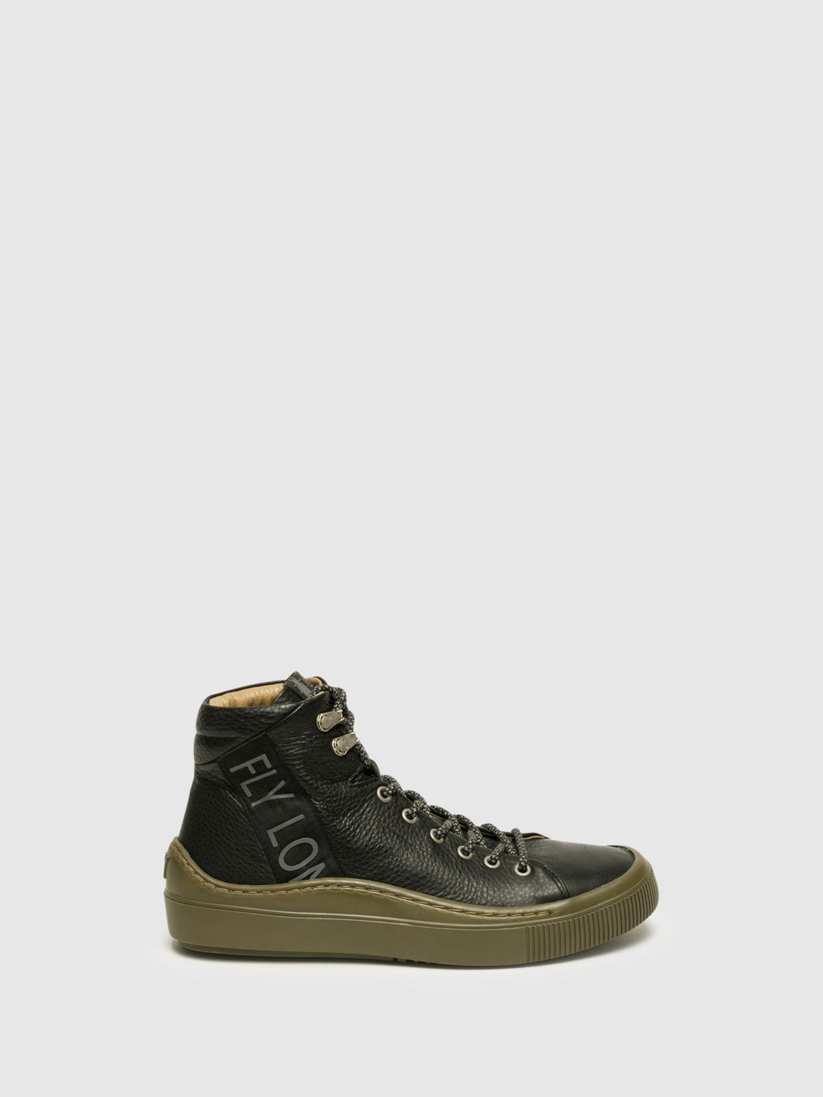 Fly London High-Top-Sneakers in Schwarz