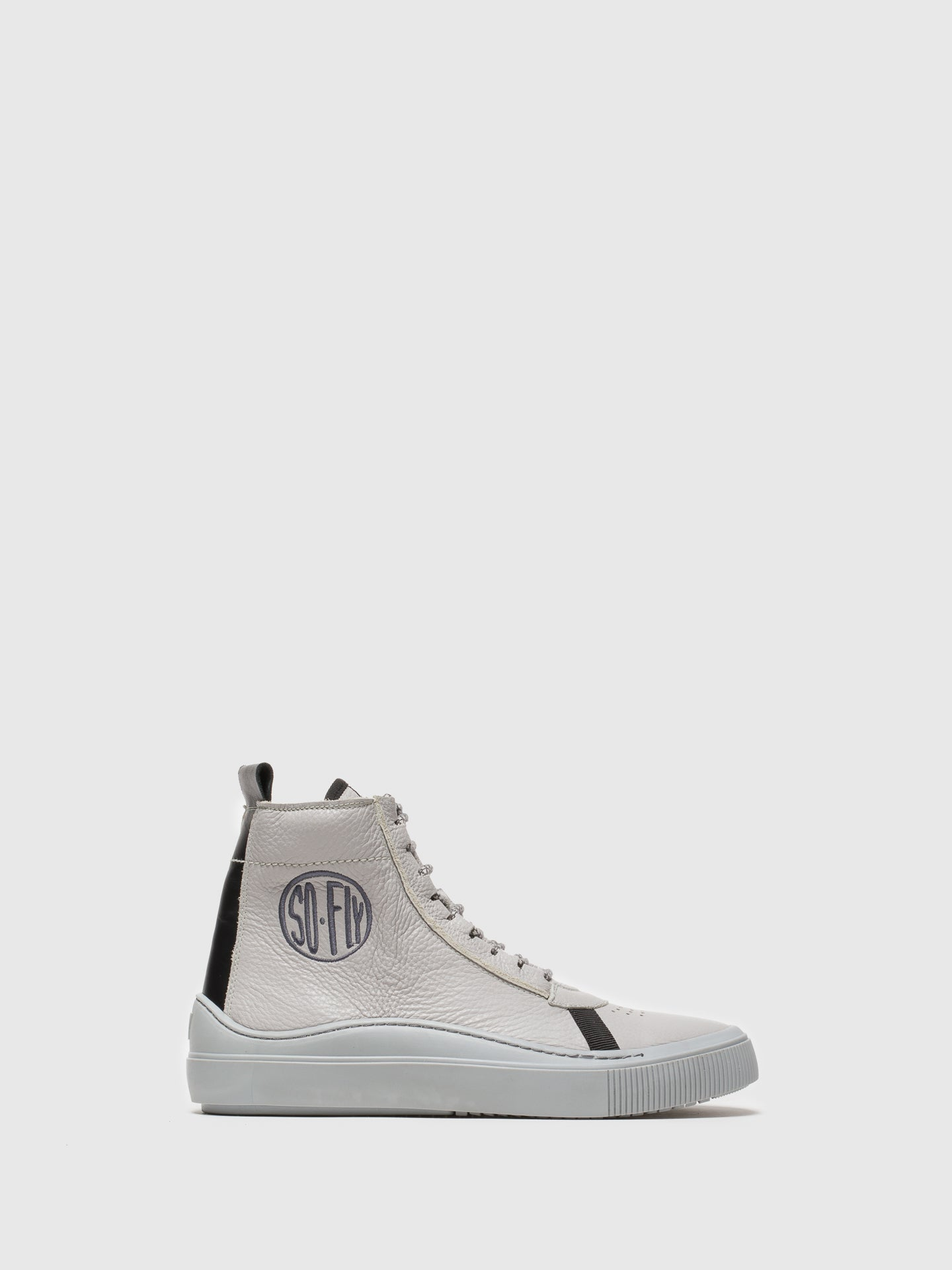 Fly London High-Top-Sneakers in Gris
